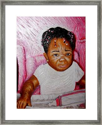 What A Blessing  Framed Print by Keenya  Woods