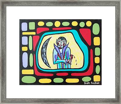 What A Bloody Night Out Framed Print by Deidre Firestone