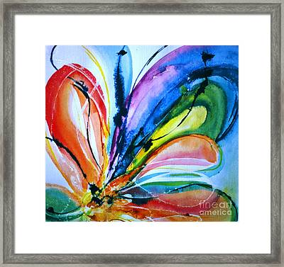 What A Fly Dreams Framed Print