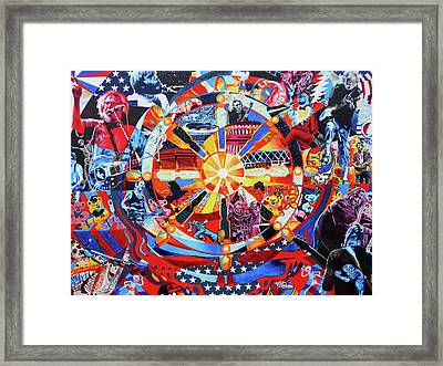 What A Long Strange Trip It's Been Framed Print