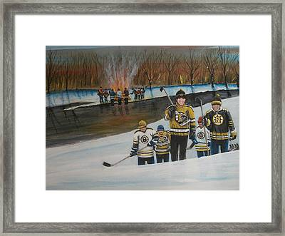 What A Riot Framed Print by Ron  Genest