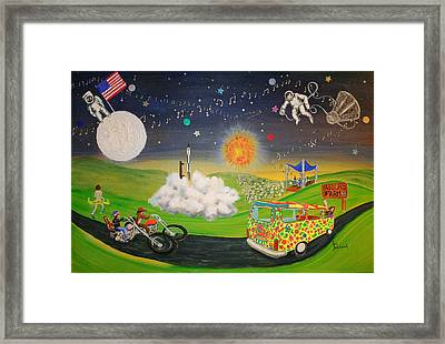What A Time It Was Framed Print