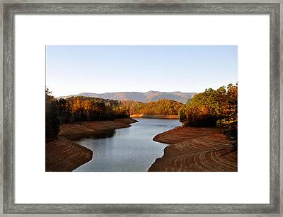 What A View Framed Print by Brittany H