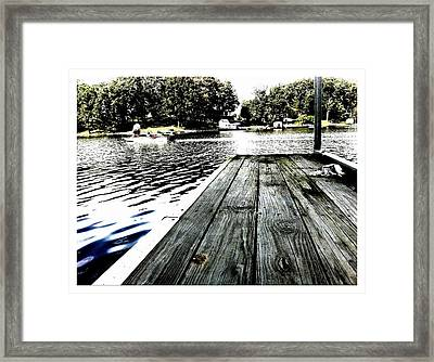 What A Way To Live Framed Print by John McGarity
