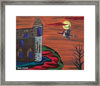 What A Wonderful Night Out Framed Print