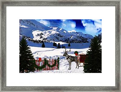 What A Wonderful Time Framed Print