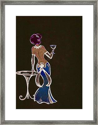 What Are You Doing New Years Eve? Framed Print by Summer Porter
