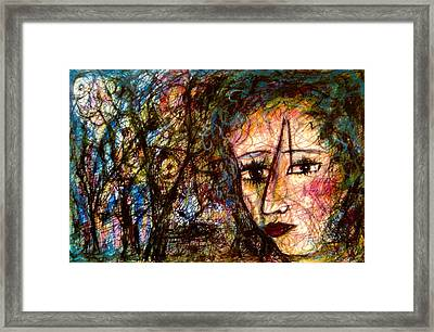 What Are You Looking At 21 Framed Print