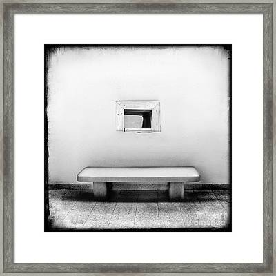 What Confines You Framed Print