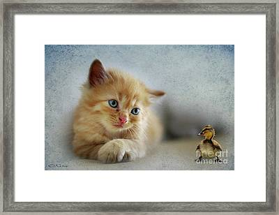 What Do You Wanna Be When You Grow Up Framed Print