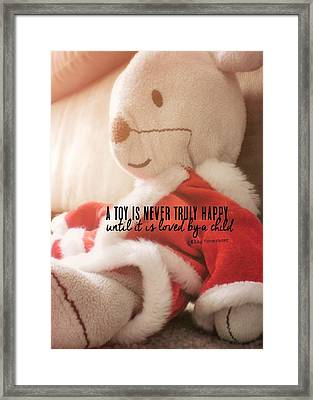 What Do You Wish Quote Framed Print by JAMART Photography