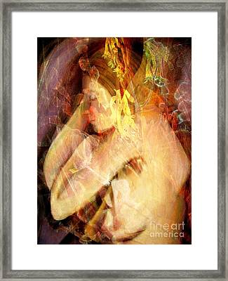 What Dreams May Come Framed Print by Helene Kippert