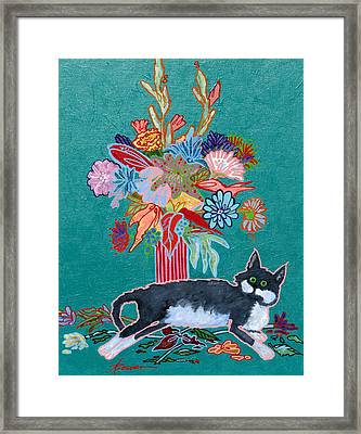 What Flowers Framed Print