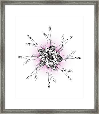 What Goes Around Framed Print by Barlena Illustrations