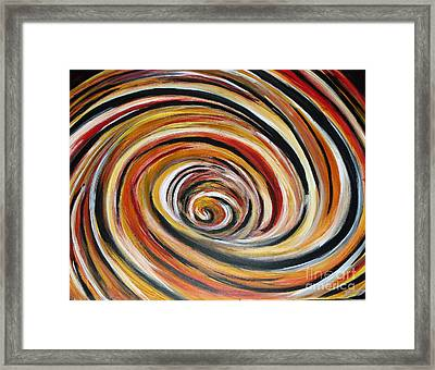 What Goes Around Comes Around Framed Print
