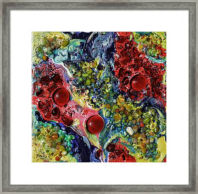 What Happened To All The Jam Framed Print by Donna Blackhall