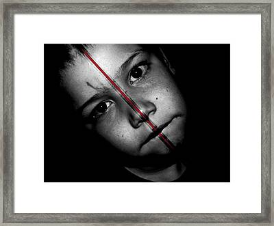 What Have I Done Framed Print by Jose Vaz