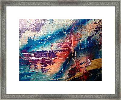 What Have We Done To The Sea Framed Print by Bruce Combs - REACH BEYOND