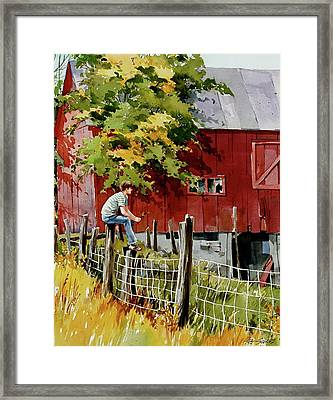 What If Framed Print by Art Scholz