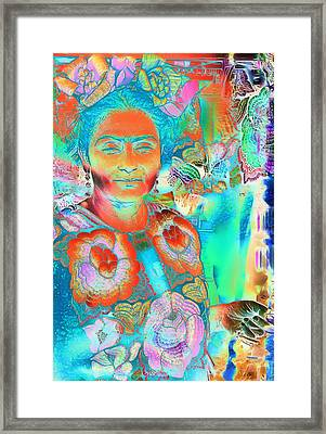 What If Framed Print by Devalyn Marshall
