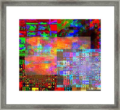 What If Nothing Was Really Something Framed Print by Fania Simon