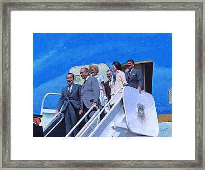 What If They Had The 744 Framed Print by Nop Briex