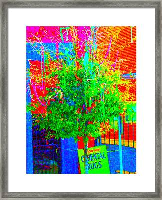 What If We Were Really Meant To Be Happy Framed Print by Angela Annas