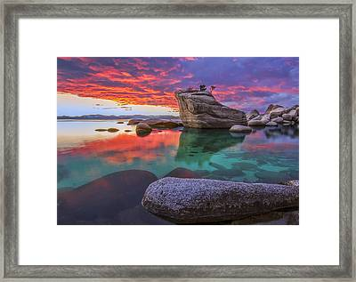 What Is Right Framed Print by Steve Baranek