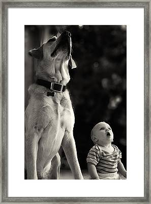 What Is That Framed Print by Stelios Kleanthous