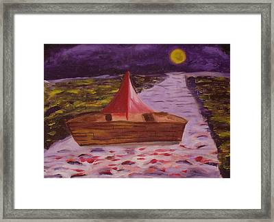 What Is Traditional Framed Print by Joseph  Arico
