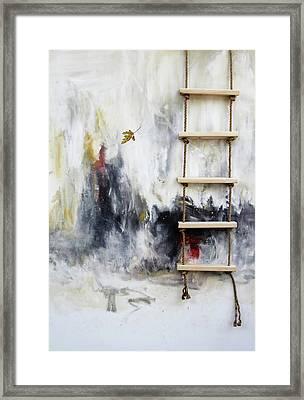 What Is Virtue Framed Print by K Llamas
