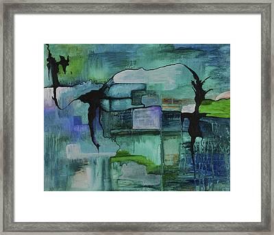 What Lies Beneath Framed Print by Sherri Hanna