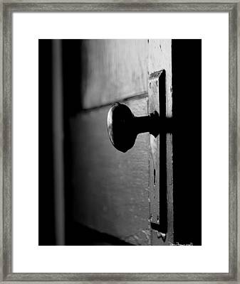 Framed Print featuring the photograph What Lies Beyond by Denise Romano