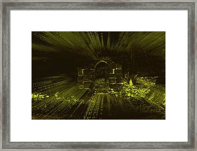 Framed Print featuring the photograph What Lies Beyond by Keith Elliott