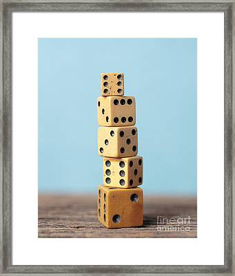 What Luck Got To Do With It Framed Print
