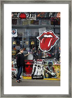 What Me Framed Print by Jez C Self