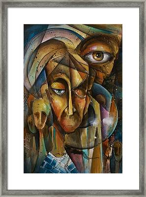 What Framed Print by Michael Lang
