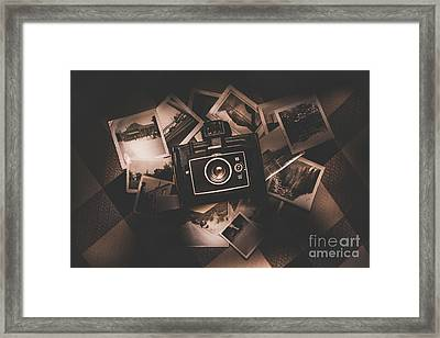 What Once Was. Memories Recollected Framed Print