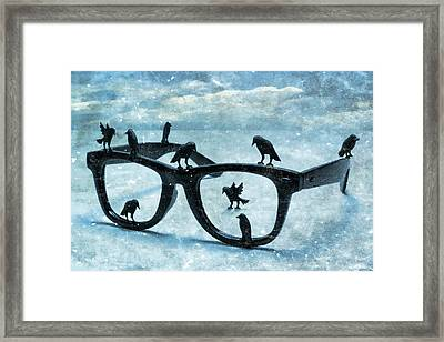 What The Crows Found Framed Print by Jeff  Gettis