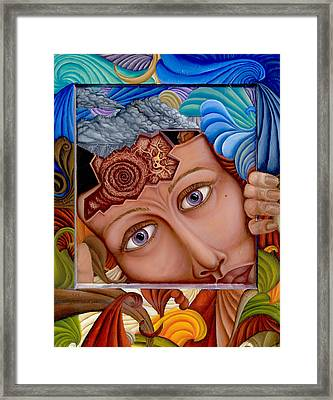 What The Mind Feels Framed Print