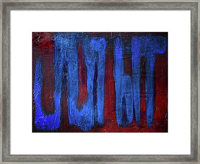 What The...? Framed Print