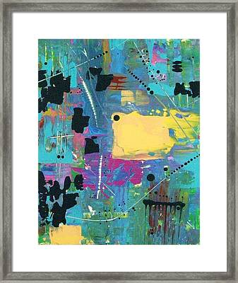 What The World Needs Now Is More Yellow Framed Print by Charlotte Nunn
