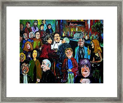 What Took You So Long Framed Print by Richard  Hubal