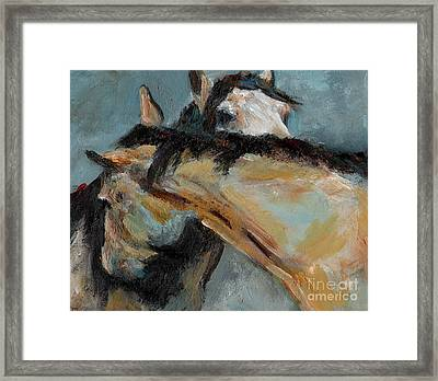 What We Could All Use A Little Of Framed Print by Frances Marino