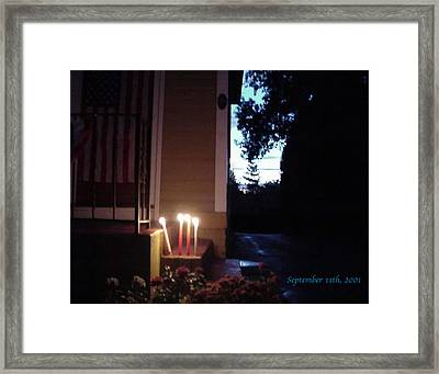 What We Could Only Do Framed Print by Ross Powell