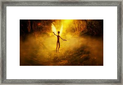 What Were Angels By Raphael Terra Framed Print by Raphael Terra