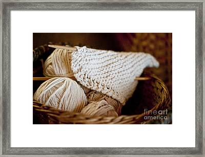 What Will It Be Framed Print by Wilma  Birdwell