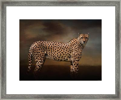 What You Imagine - Cheetah Art Framed Print