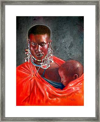 What You Lookin For Framed Print by G Cuffia