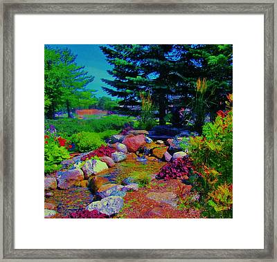 What A Day For A Daydream  Framed Print